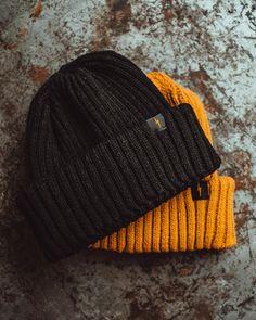Black Fishermans Beanie P&Co Fisherman's Hat, Women's Hats, Cool Beanies, Yellow Guy, Beanie Outfit, Black Bolt, Black Beanie, Outfits With Hats, Ribbed Fabric