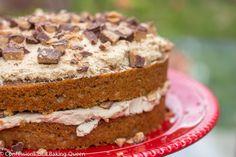 Coffee Heath Bar Crunch Cake