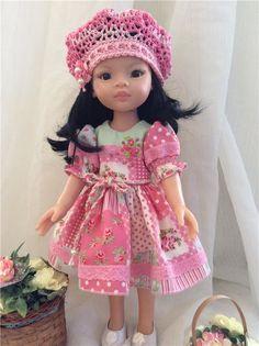 Платье для куколок Паола Рейна / Одежда для кукол / Шопик. Продать купить куклу / Бэйбики. Куклы фото. Одежда для кукол