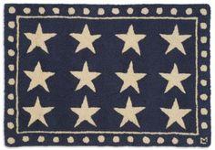 wool rug stars
