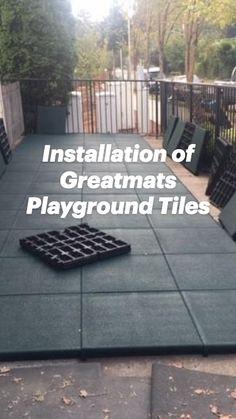 Playground Mats, Preschool Playground, Playground Flooring, Playground Ideas, Outdoor Playground, Outdoor Play Areas, Sleeping Porch, Gym Decor, Concrete Floors