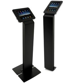 customers love this Compadre model of SecureGive iPad Kiosk. Can even apply graphics to the entire front piece!