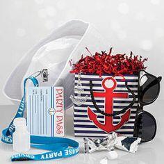 Nautical & Beach Wedding Planning, Theme Ideas, Decor & Supplies >> Nautical Swag Bag Deluxe
