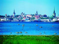 Tallinn, Estonia #colorfulestonia #visitestonia