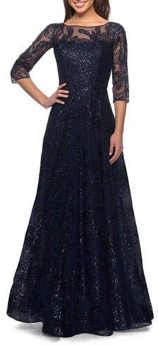 Mother Of The Bride Gown, Mother Of Groom Dresses, Bride Dresses, Illusion, Black Lace Bridesmaid Dress, Short Dresses, Formal Dresses, Party Dresses, A Line Gown