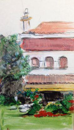 Pequeño apunte acrilico Painting, Art, Gardens, Art Background, Painting Art, Kunst, Paintings, Performing Arts, Painted Canvas