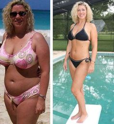 .-- How she lost 12 dress sizes in 5 months.