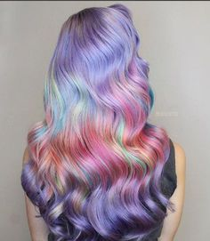 more pastel hair color ideas for you Bold Hair Color, Cute Hair Colors, Beautiful Hair Color, Bright Hair, Hair Colorful, Pelo Multicolor, Color Fantasia, Pulp Riot Hair Color, Hair Colors