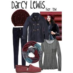 """Darcy Lewis"" by evil-laugh on Polyvore"