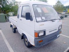 Daihatsu Motor Co., LTD, utility vehicle, 4WD, Type: S81LP-JTRK, gasoline operated, 11,882 miles, 1387 hours, no battery