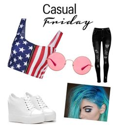 """Casual"" by oanajeni on Polyvore featuring art"