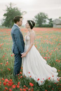 Real Weddings: Meet Emilie | Dress: Carol Hannah Senara| Photography:Jonathan Udot| Planner:Wanderlust Wedding| Florals:Laetitia C. Fleurs d'Atelier| Cinematographer:JD Filmmaker| Stationary : The Little Blue Chair