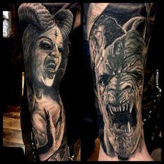 Evil sleeve b&g