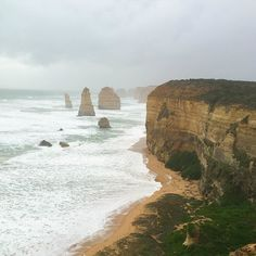 12 Apostles was insane! Such a majestic scenery  Follow our trip on #Snapchat on Claire.fhi  Vasia.fhi  #melbourne #12apostles #fashionhasittraveling #fashionhasitinAustralia #fashionhasit #australia by fashionhasit http://ift.tt/1ijk11S