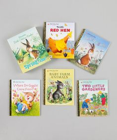 Take a look at this Favorite Little Golden Books for Springtime Hardcover Box Set by Random House on #zulily today!