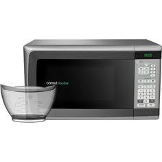Forno de Micro-ondas Consul Facilite CMY34AR - 25 Litros e Função Uso Fácil - Inox - Submarino.com.br