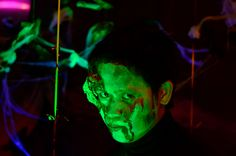 """We also supply """"glow-in-the-dark"""" makeup and costumes."""