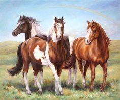 Custom Horse Portrait-Original Oil by FerraroFineArt on Etsy #horsepainting #animalslove