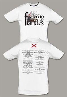 Camiseta Tercio de Flandes