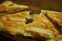 Vintage Kitchen Notes: Brie and Mango Chutney Quesadillas