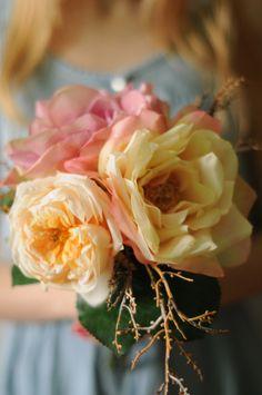 Ramo de flores artificiales por TheLittleNemo en Etsy