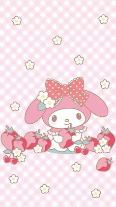 ♥ My Melody ♥ strawberry