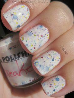 Jawbreaker nail polish! Sold on Etsy