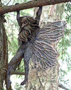 The mythical bronze sculpture of Deran Wright, Gnomes, Minotaur, Fairies, classical Greek