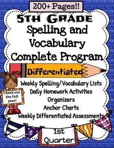 5 Minute Grammar Daily Grammar Worksheets 6th GRADE Practice and ...