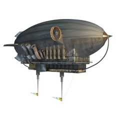 Image result for airship 3d