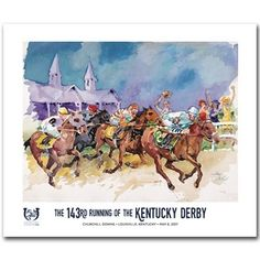 2017 Official Kentucky Derby Poster $30.00