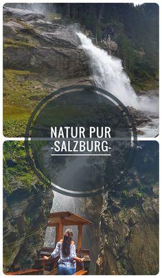 Erholung & Natur - Ich verrate dir die 3 schönsten Ausflugsziele in Salzburg, Österreich! Heart Of Europe, Reisen In Europa, Alps, Niagara Falls, Austria, Adventure Travel, Places To Travel, The Good Place, Waterfall