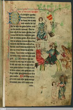 Titel [Sachsenspiegel] [CIM I 410] / [Eike von Repgow] VerfasserEike, von Repgow   ErschienenRastede, 1336 Oldenburg, Medieval Manuscript, Illuminated Manuscript, Old Books, Caligraphy, 14th Century, Middle Ages, Art Boards, Bohemian Rug