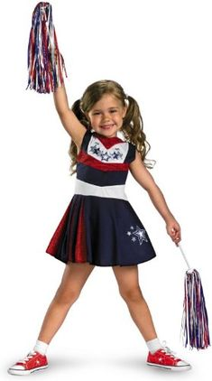Cheer your team on in this cheerleader costume for toddlers! Toddler Girls Superstar Spirit Cheerleader Costume features a red white and blue cheerleader ...  sc 1 st  Pinterest & PartyBell.com - #Cheerleader Child Costume | Kids Costumes ...