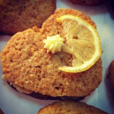 Honey and lemon cookies