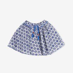 Flocons Print Skirt