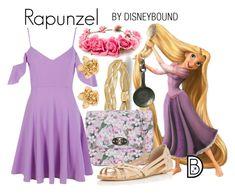 """Rapunzel"" by leslieakay ❤ liked on Polyvore featuring Allurez, Forever 21, LYDC, Boohoo, Miss Selfridge, Oscar de la Renta, disney, disneybound and disneycharacter"