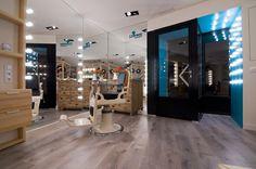 Llorenç Perruqueria hairdresser by Estudio Vitale, Morella – Spain » Retail Design Blog