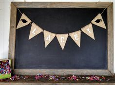 Custom Name #Graduation Banner Burlap Bunting #classof2015 by SweetThymes.etsy.com
