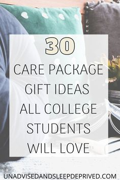 College students love care packages. It reminds them of home, but helps to alleviate the homesickness. These care package gift ideas are perfect for first-year college students, or really any year. Gifts are always nice. College Student Gifts, Student Life, College Students, College Packing, College Hacks, Ways To Destress, All Colleges, Dorm Essentials, Care Packages