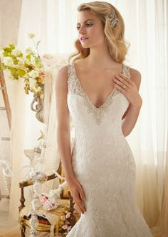 Mori Lee by Madeline Gardner Spring 2014 Collection - Part 2 - Belle the Magazine . The Wedding Blog For The Sophisticated Bride