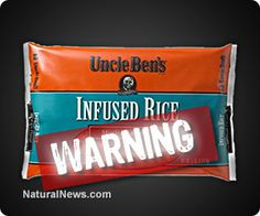 More toxic rice? FDA recalls Uncle Ben's Infused Rice after victims suffer skin rashes, headaches and nausea   Learn more: http://www.naturalnews.com/043887_Uncle_Bens_rice_toxic_ingredients_FDA_recall.html#ixzz2t9RNCt4e
