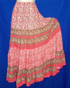 Bohemian Broomstick Skirt   http://stores.ebay.com/My-Evergreen-Closet