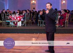 Maestro de ceremonias, quien ameniza, programa y destaca lo mejor de tu evento.