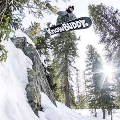 If a hammer drops in the woods, and knowbuddy 'grams it, did it really happen? @hecklerhouse #burtonknowbuddy   Photo: @gill_monty_photo