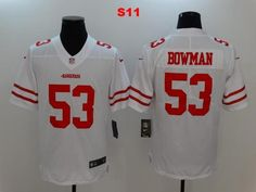 9a6837a37dd Men 53 NaVorro Bowman Jersey Football San Francisco 49ers Jersey