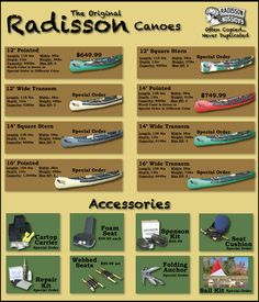 8 Best Radisson Canoes images in 2017 | Canoes, Fishing