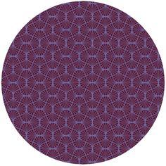 purple - Joel Dewberry Heirloom, Empire Weave Garnet