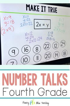 These math talk activities are the perfect addition to your fourth grade classroom. They are highly engaging, common core aligned, easy to implement, and fun. Grab your set today and watch as your students' problem solving skills soar to new heights. Math Enrichment, Algebra Activities, Fifth Grade Math, Fourth Grade, Sixth Grade, Third Grade, Math Teacher, Teaching Math, Teacher Stuff