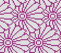 Crochet Patterns Ravelry Ravelry: Project Gallery for Chrysantheme pattern by Sabine Naumann Knitting Charts, Loom Knitting, Knitting Stitches, Knitting Designs, Knitting Patterns, Kids Knitting, Crocheting Patterns, Knitting Machine, Cross Stitch Charts